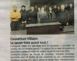Entreprise de couverture - Couverture Villalon Patrick - Dinan