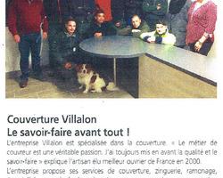 Couverture Villalon Patrick – Taden - Revue de presse